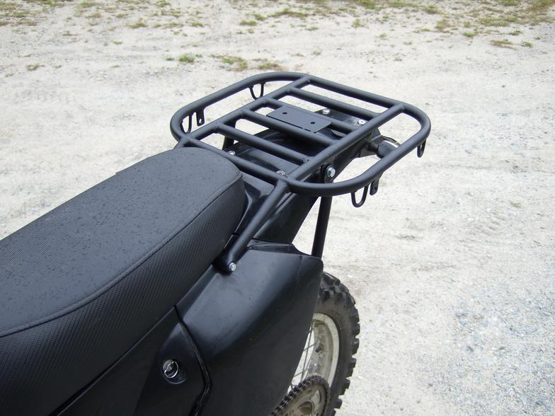 Suzuki DRZ 400E Rear Luggage Rack